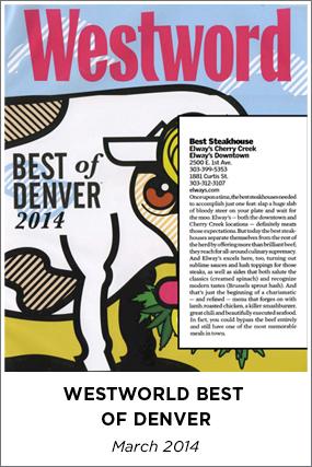 WESTWORLD BEST OF DENVER - APRIL 2013